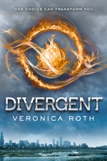 """""""Divergent (book) by Veronica Roth US Hardcover 2011"""" by Source (WP:NFCC#4). Licensed under Fair use via Wikipedia - http://en.wikipedia.org/wiki/File:Divergent_(book)_by_Veronica_Roth_US_Hardcover_2011.jpg#mediaviewer/File:Divergent_(book)_by_Veronica_Roth_US_Hardcover_2011.jpg"""