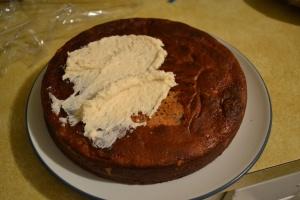 Nutella butter cake- it's delicious!