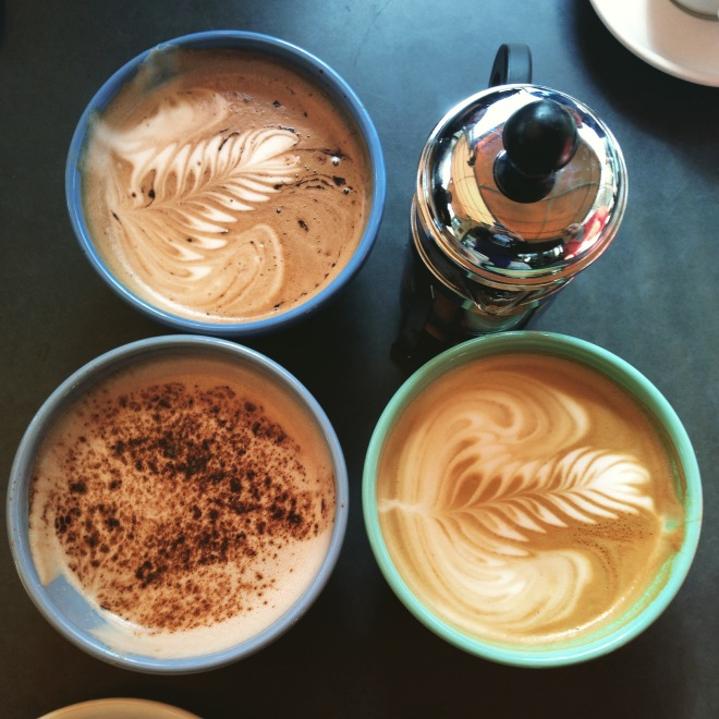 Coffee and ambiance at Caffe Driade Teaspoon of Nose