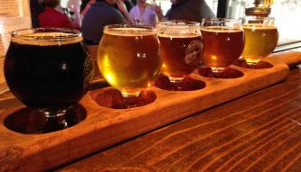 Exploring Nashville: Tennessee Brew Works, one of many great breweries in the city!