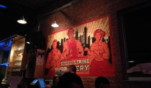 Steel String brewery in Carrboro NC is a great place to chill with friends! Teaspoon of Nose