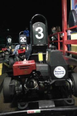 Go karts and putt-putt at Adventure Landing in Raleigh, NC
