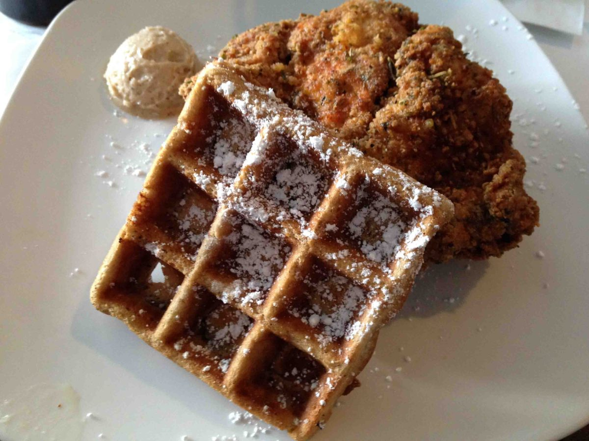 Home-cooked goodness at Dame's Chicken & Waffles