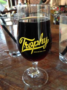 Great beer and pizza in Raleigh at Trophy Brewing Company