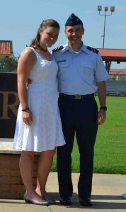 So proud of my JAG cadet graduating from Field Training!