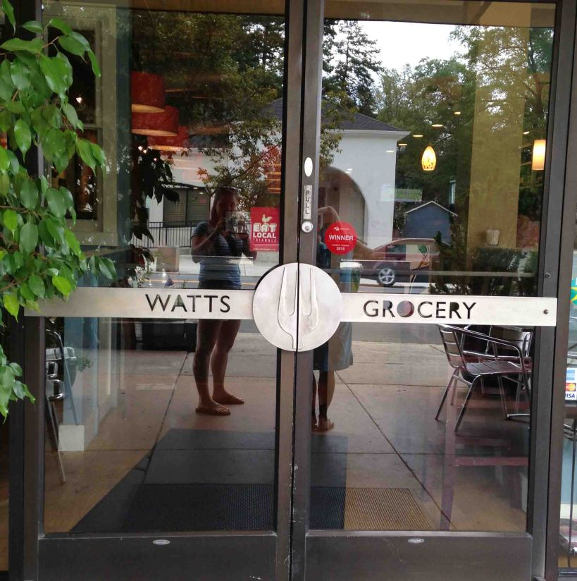 Delicious farm-to-table brunch at Watt's Grocery #trianglebucketlist #triangletuesday
