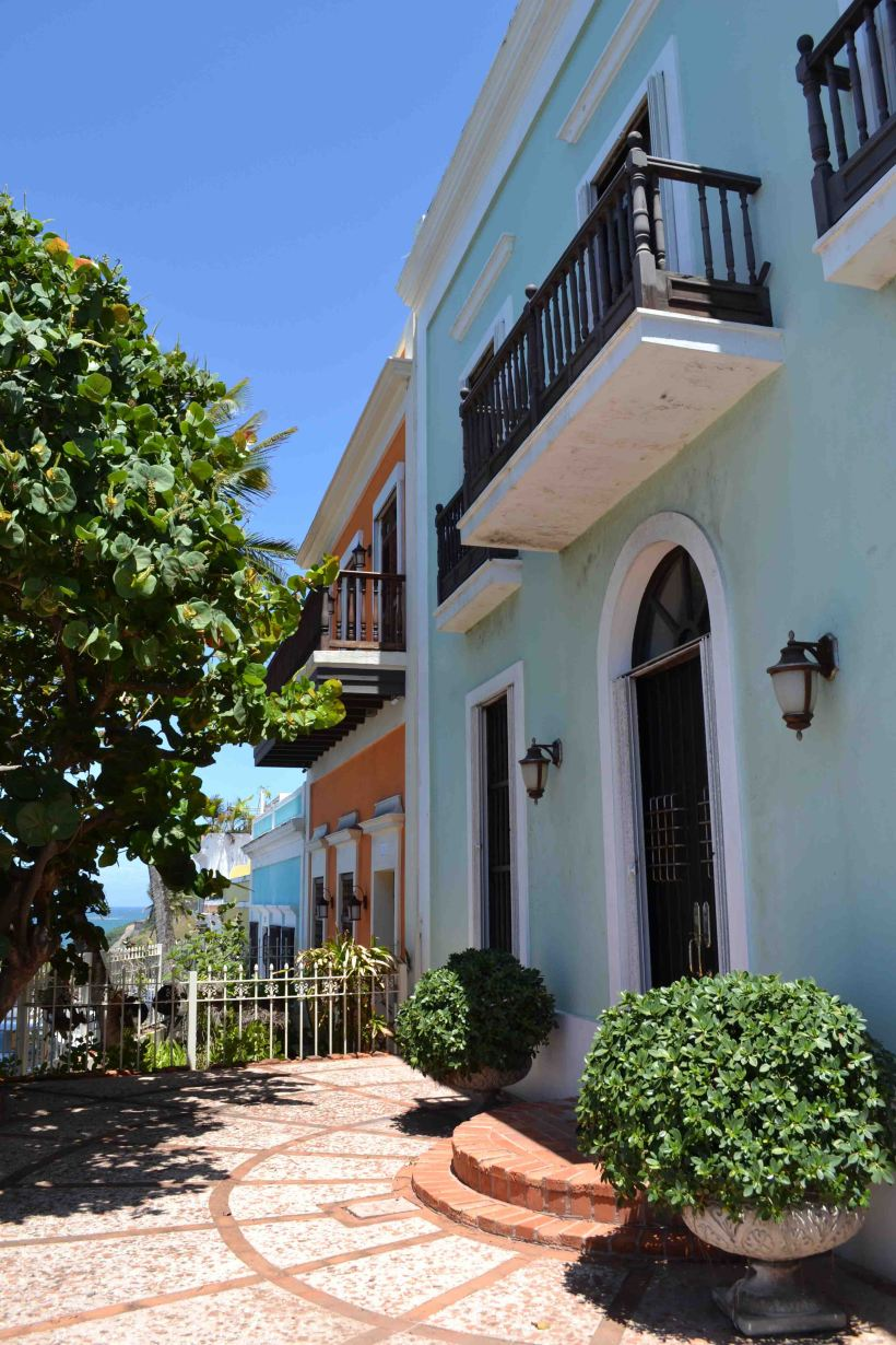 Latin American colors meets Spanish flair in San Juan, Puerto Rico!