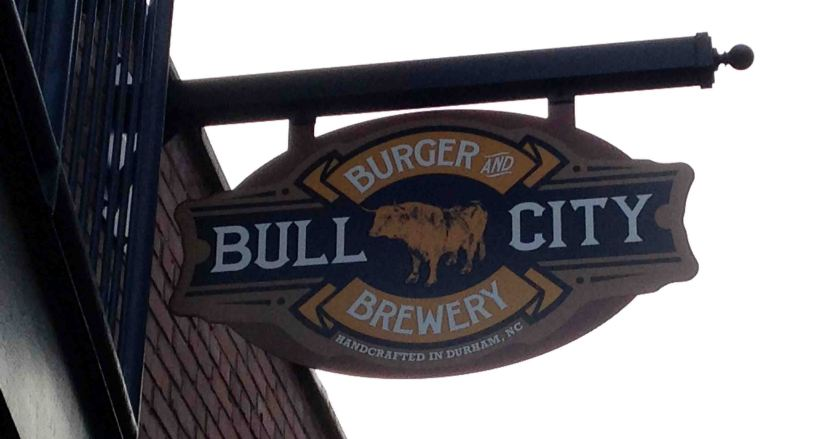 Getting my favorite burgers at Bull City Burger and Brewery! #trianglebucketlist