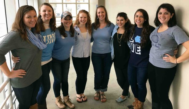 Homecoming tailgate to cheer on the Tar Heels!