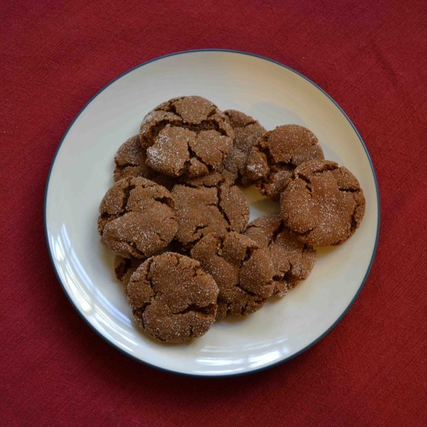 Molasses Sugar Cookies