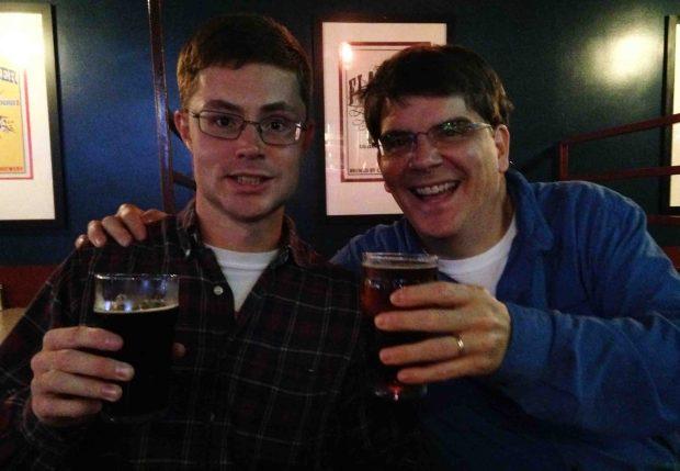 At the Carolina Brewery for Santa's Secret!