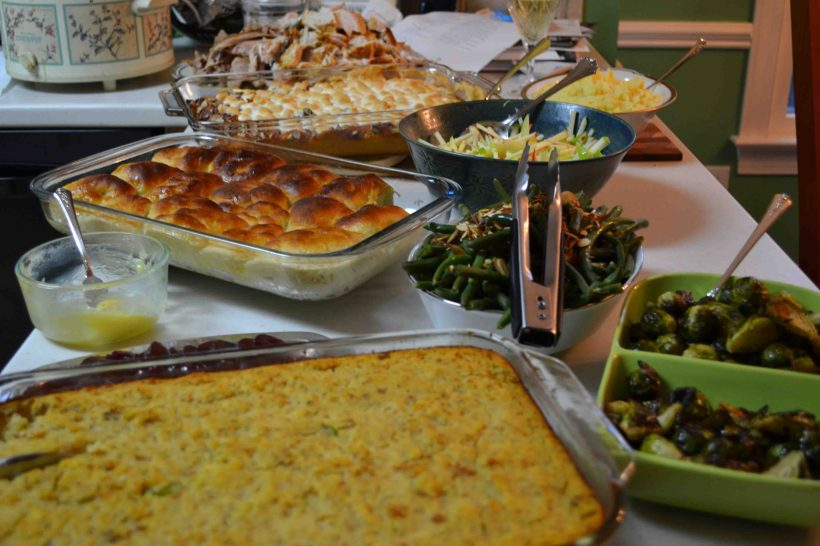 Thanksgiving feasting!