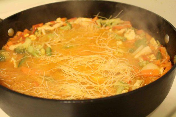 Thai noodle soup 5