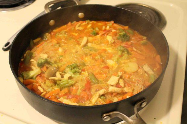 Thai noodle soup 6