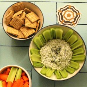 Quick spinach dip is perfect for any occasion!