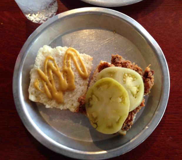 Beasley's Chicken & Honey: where the biscuit is the size of your head!