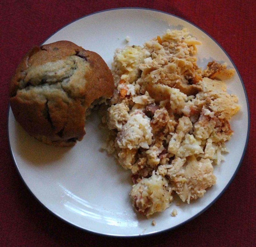 Crockpot breakfast casserole 12