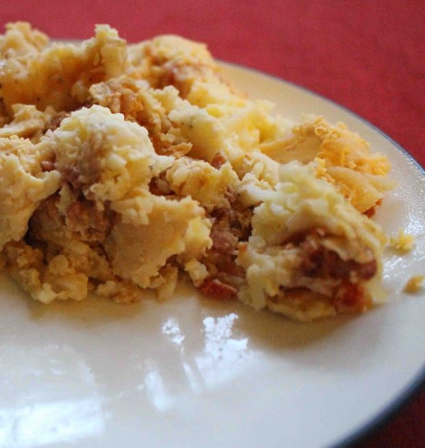 Looking for a fantastic breakfast crockpot to feed a crowd? This egg hashbrown dish is your winner!