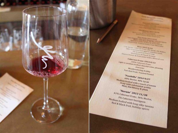 Celebrating Laura's bachelorette weekend with a vineyard weekend!