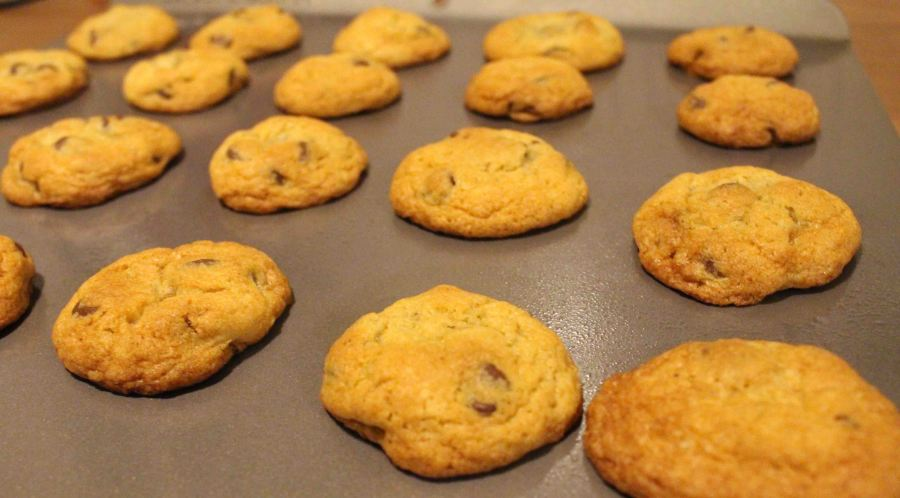 Classic chocolate chip cookies are just what I need for a little boost in happiness and confidence!