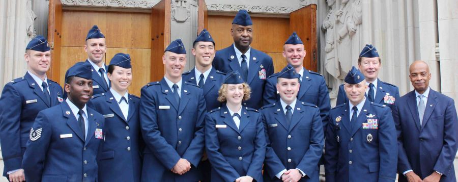 Logan graduated law school and commissioned into the Air Force!