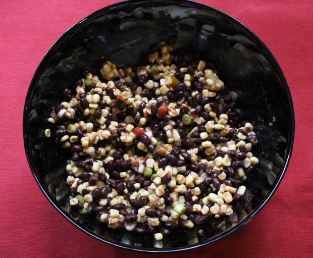 Southwestern salsa makes a great side dish to take to a cookout or picnic!