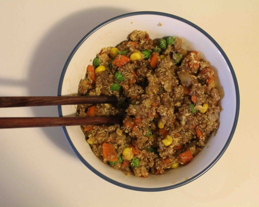 Quinoa fried rice 07