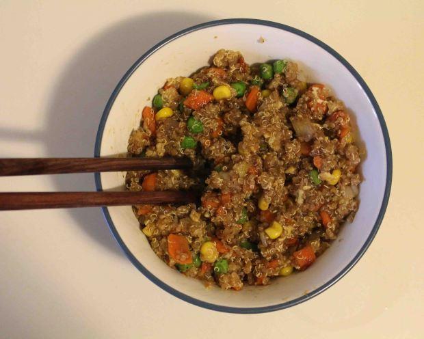 Quinoa fried rice 07