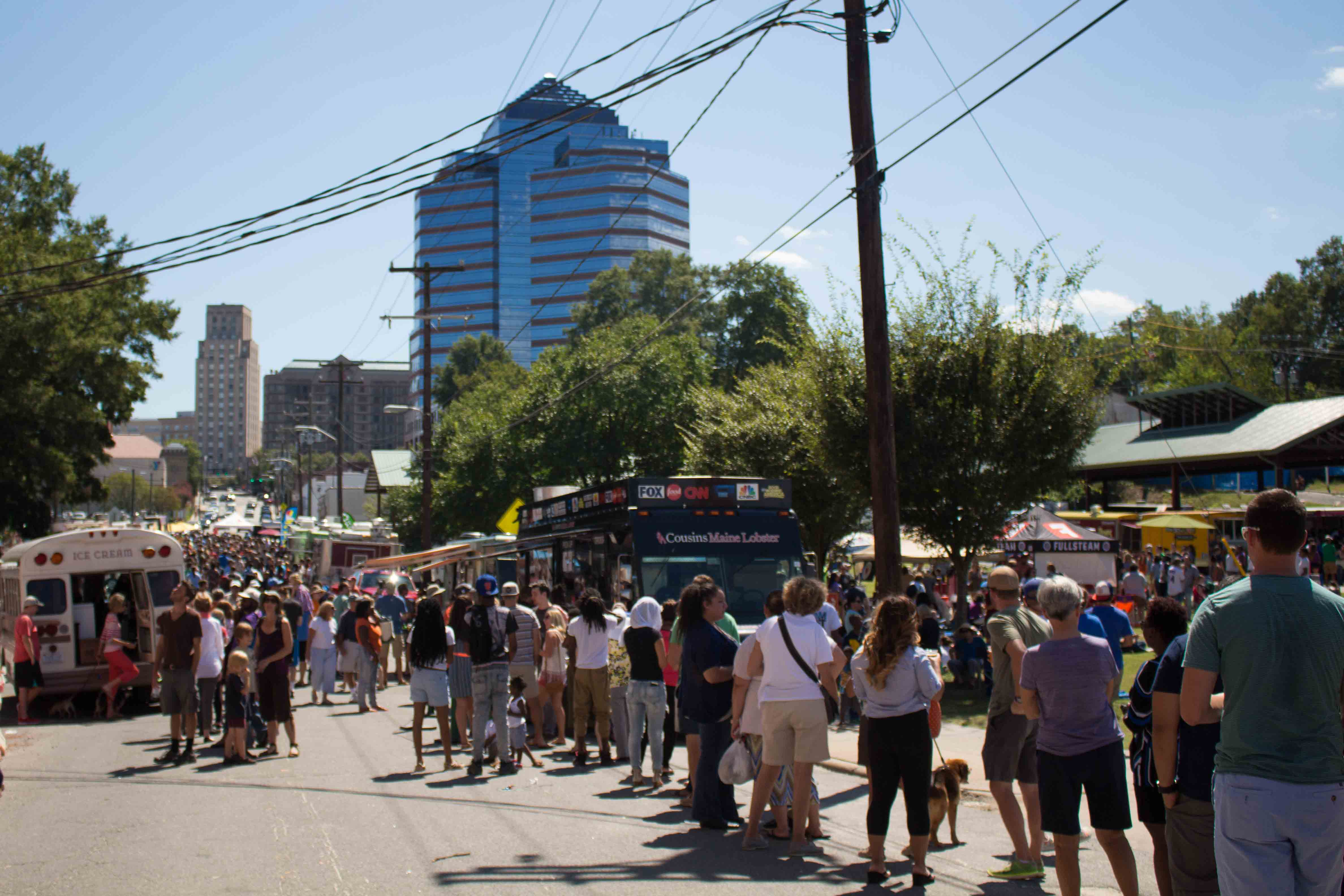 A perfect day at the Durham Food Truck Rodeo!!