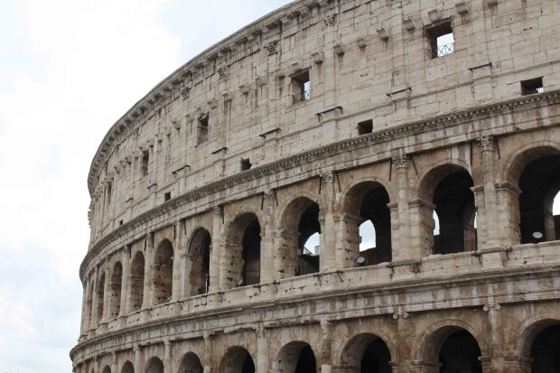 A must-do in Rome: the Colosseum!