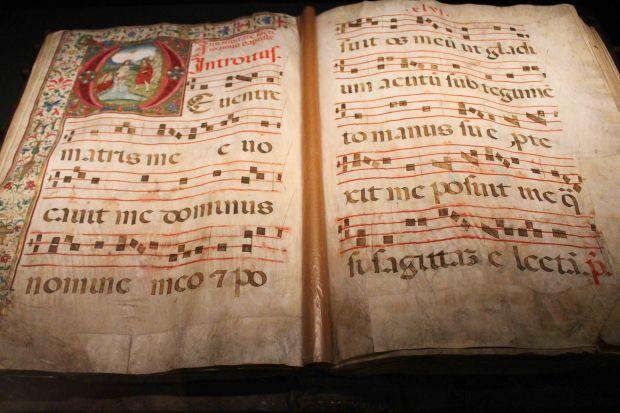 Florence Duomo Museum choir book