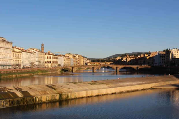 Florence river view