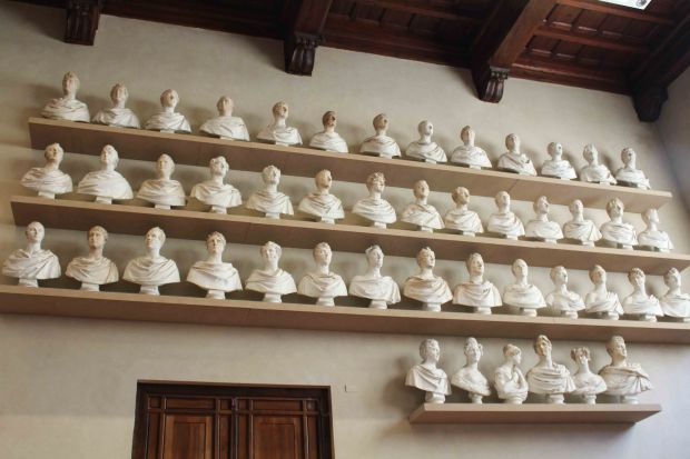Florence's Accademia busts