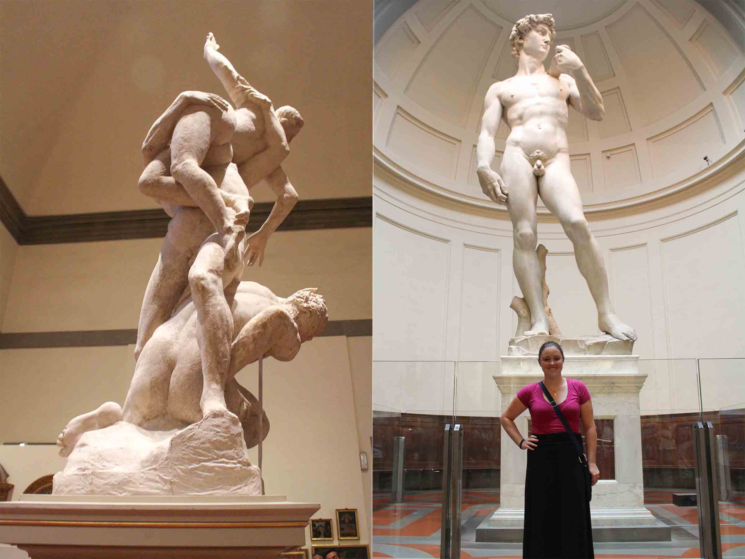 Florence Accademia David sculpture