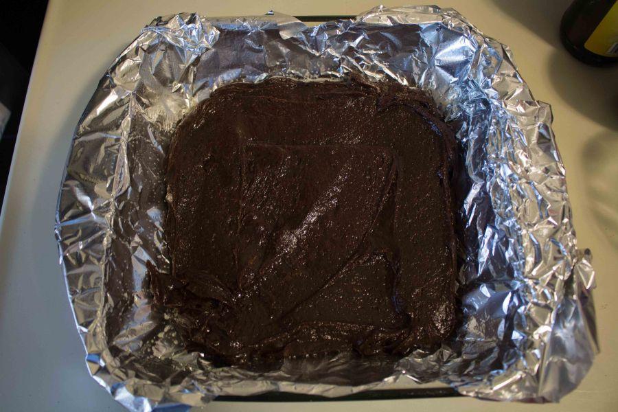 Rich fudgy brownies, HOMEMADE!