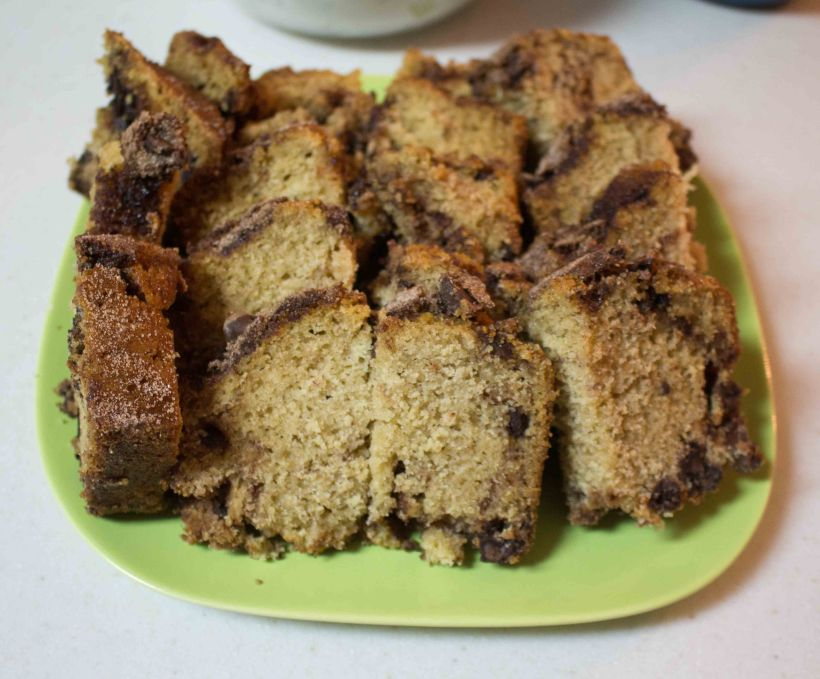 Dessert for breakfast, otherwise known as Cinnamon Chocolate Chip Bread!
