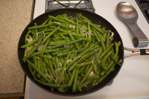 Green beans added