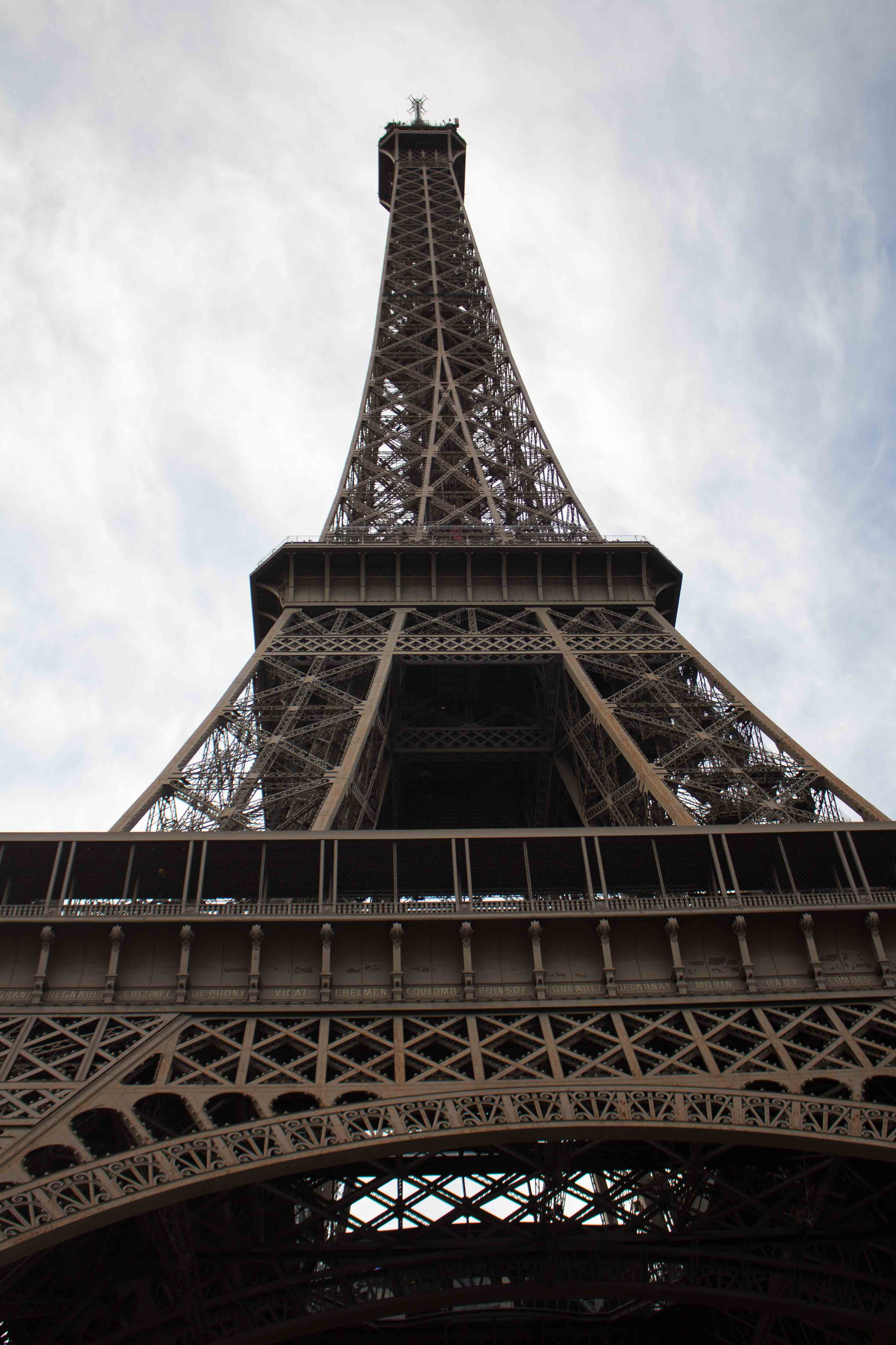A visit to Paris is incomplete without climbing the Eiffel Tower!