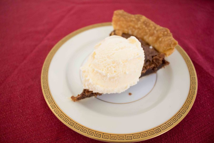 Chocolate Chess Pie is the perfect decadent dessert for Valentine's Day!