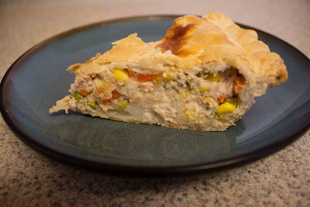 This chicken pot pie hits the spot for hearty, warming comfort food!
