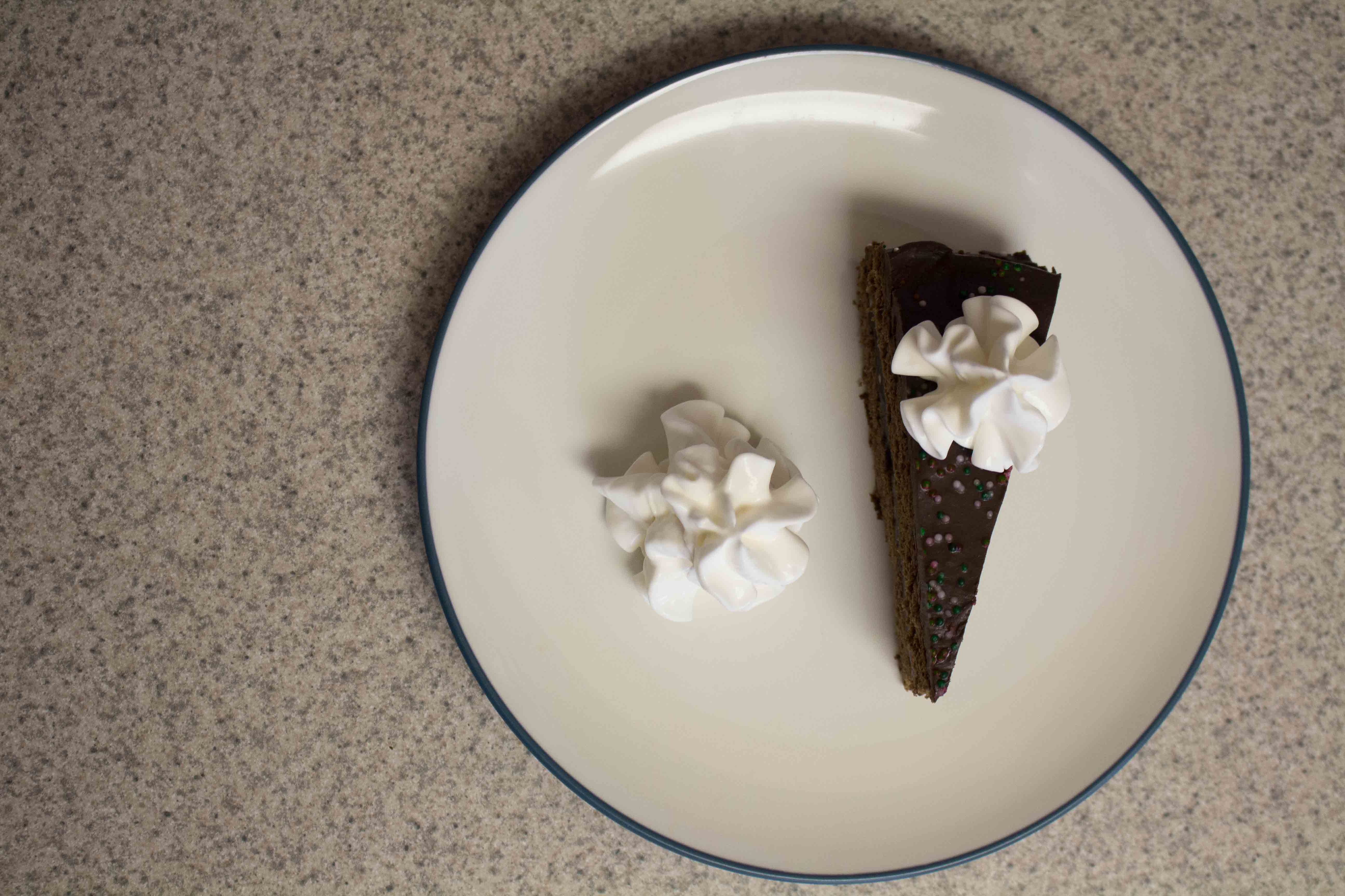 Need a fancy but not fussy dessert? This decadent chocolate torte is perfect!