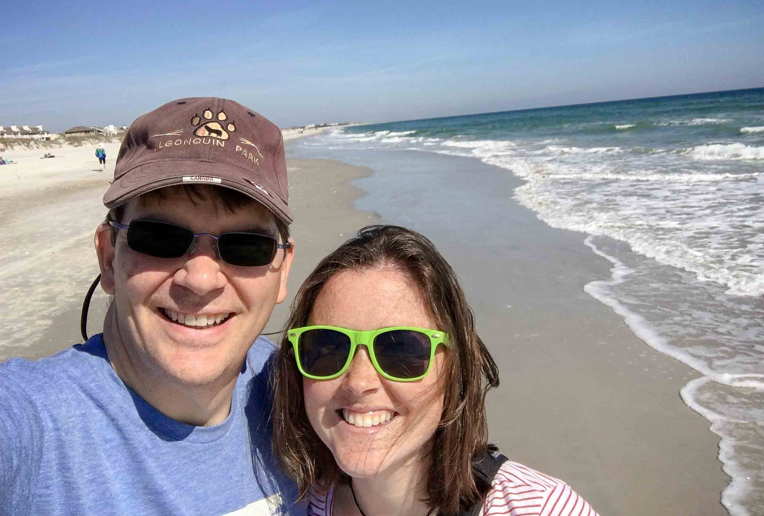 Nothing beats a day trip to the beach on a warm February day!