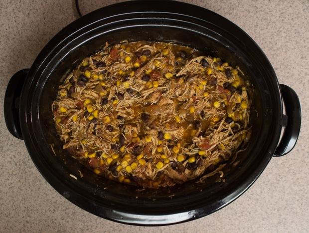 Can dinner get easier than crockpot chicken tacos?