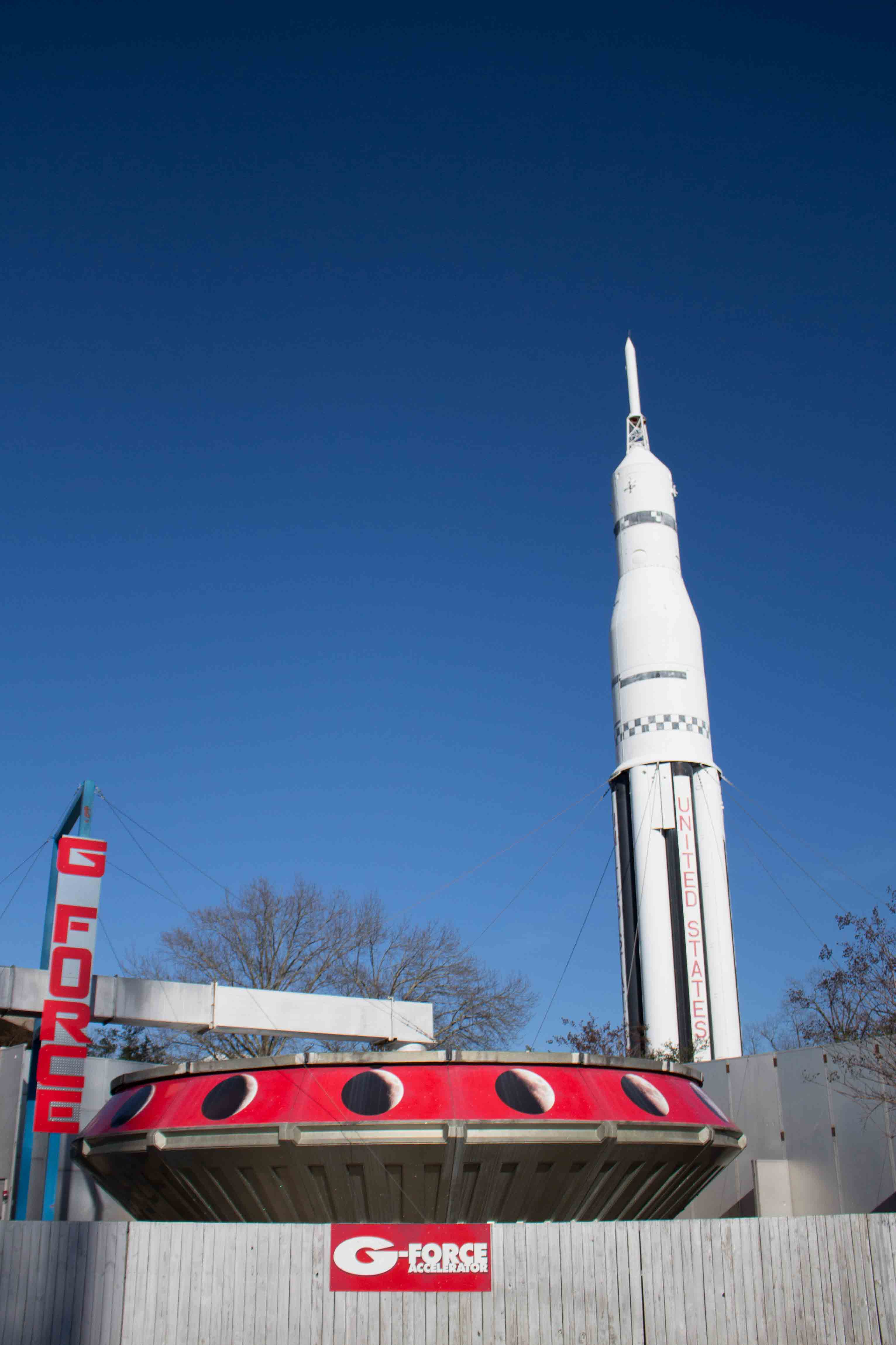 Nerding out on rockets at the Huntsville Space & Rocket Center!
