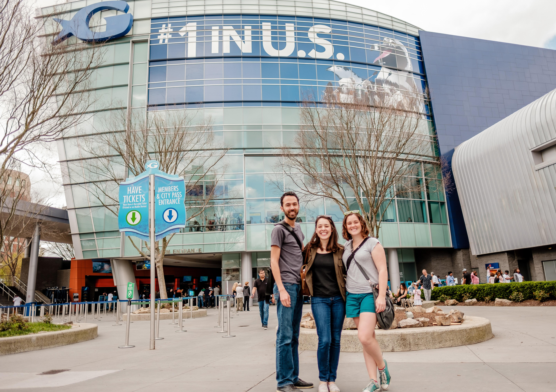 Exploring the Georgia Aquarium in Atlanta!