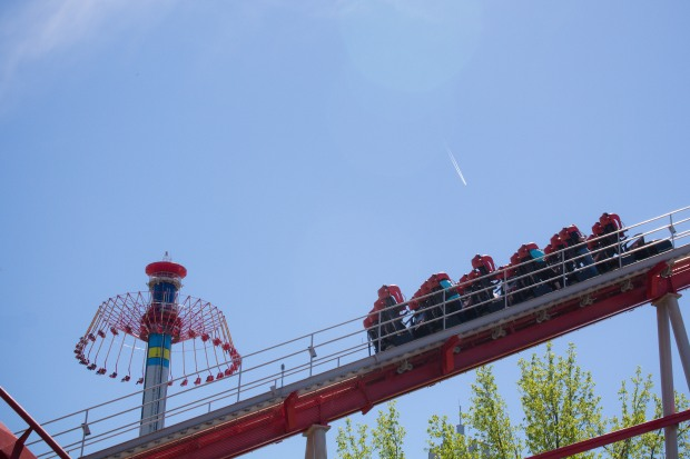 Carowinds is the and NC-SC amusement park and it's not to be missed!