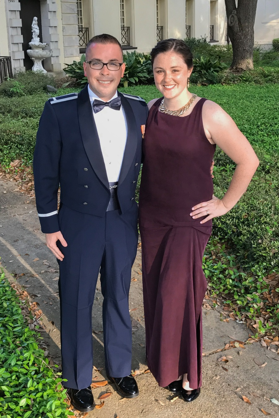 US Air Force JAG JASOC graduation festivities!