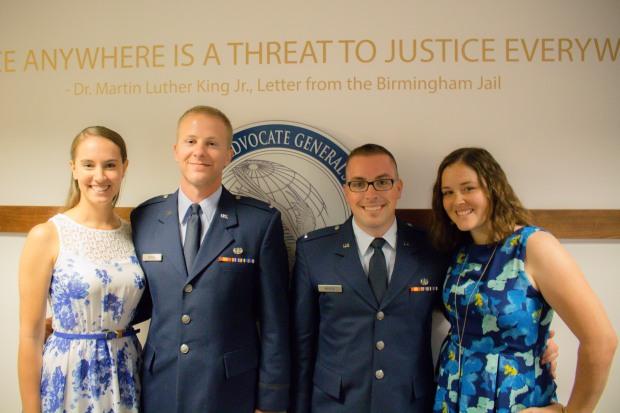 US Air Force JAG JASOC graduation festivities!