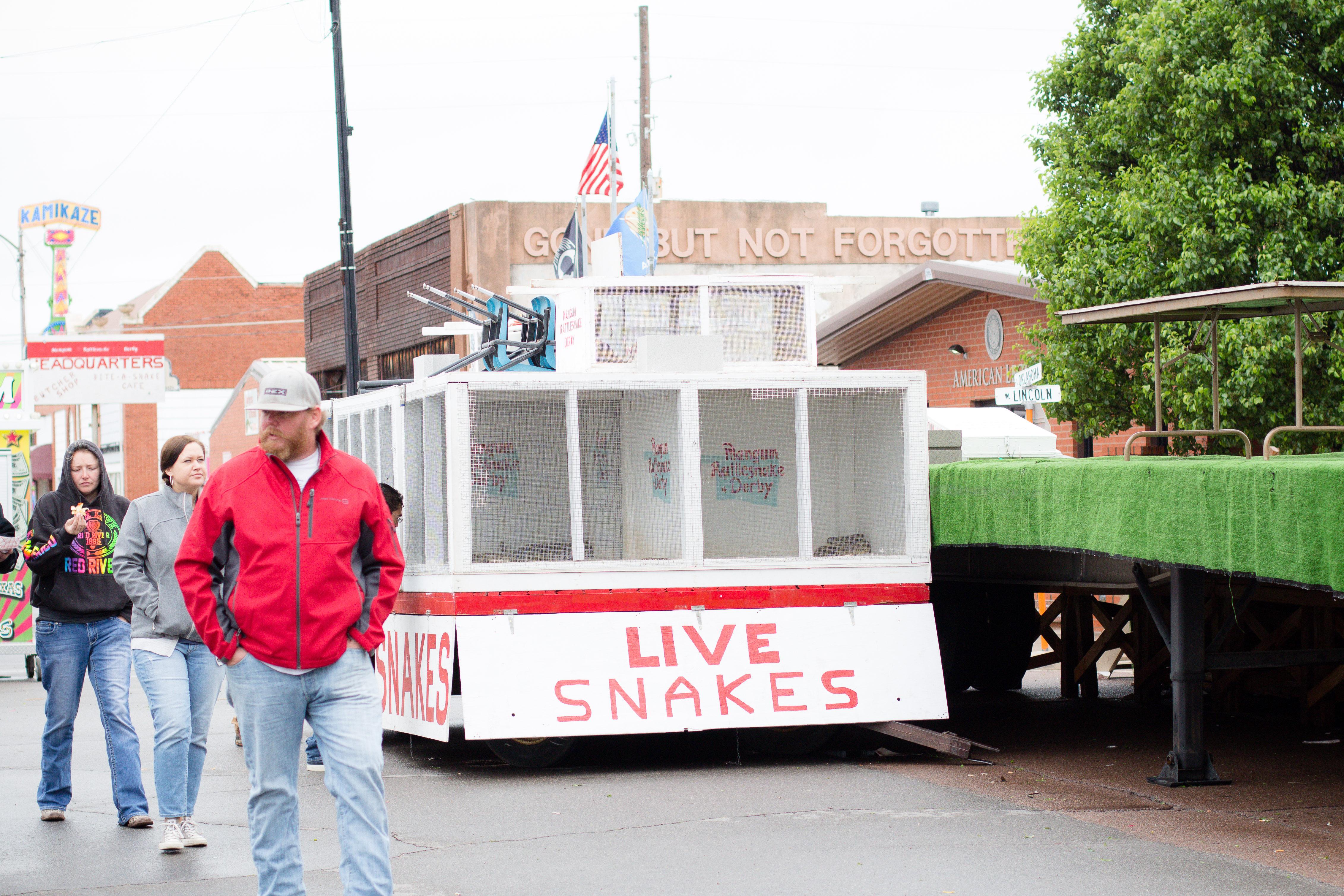 Exploring Mangum's Rattlesnake Derby in southwest Oklahoma!