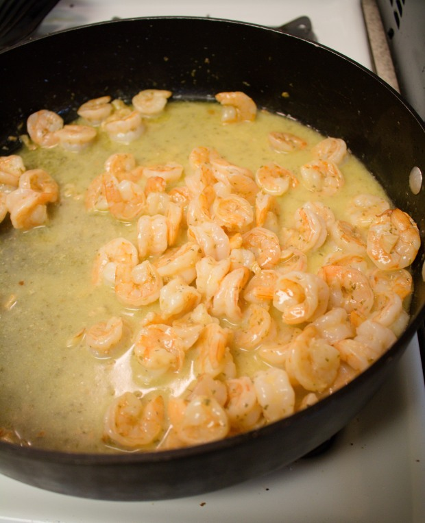 Shrimp scampi is quick, easy, and so good! Talk about addictive food!